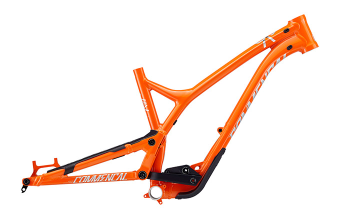 CUADRO SUPREME SX 650B ORANGE 2018