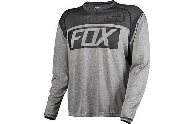 MAILLOT MANGAS LARGAS FOX HEAD INDICATOR GRIS 2016