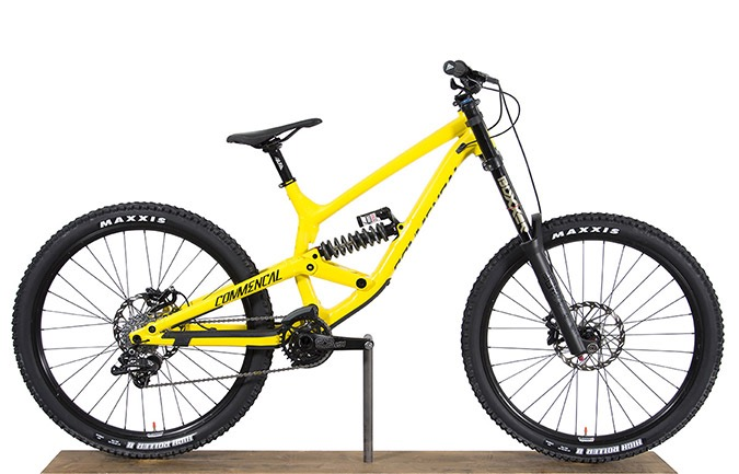 FURIOUS ORIGIN 650B YELLOW 2017 (M)