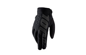GUANTES 100% BRISKER COLD WEATHER NEGRO 2018