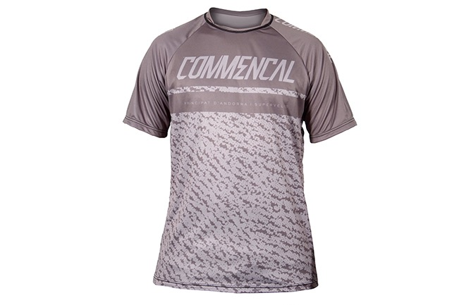 MAILLOT MANGAS CORTAS COMMENCAL GREY 2019