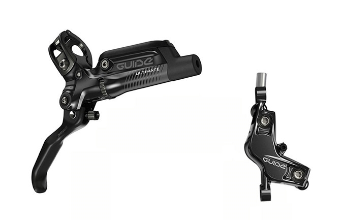 FRENOS DE DISCO SRAM GUIDE ULTIMATE NEGRO 200/180