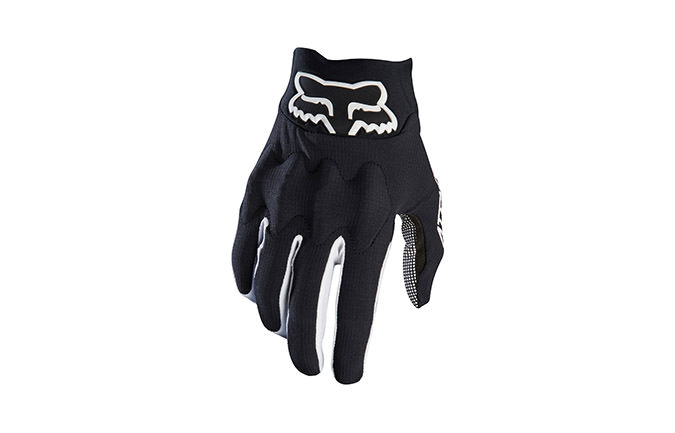 GUANTES FOX ATTACK BLACK/WHITE 2017