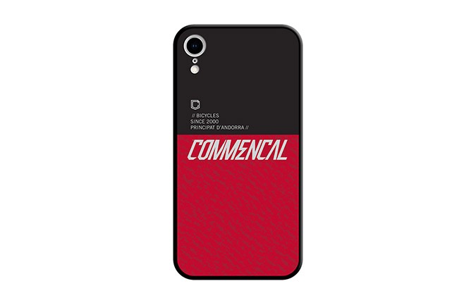 CARCASA COMMENCAL IPHONE XR RED 2019