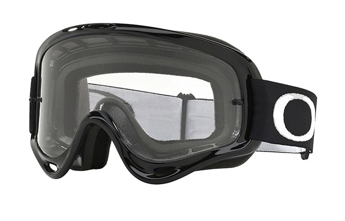 MÁSCARA OAKLEY O FRAME MX JET BLACK - CLEAR LENS