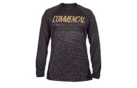 MAILLOT MANGAS LARGAS COMMENCAL BLACK/GOLD 2019