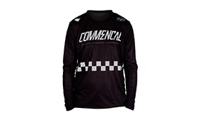 MAILLOT MANGAS LARGAS COMMENCAL/FORBIKE BLACK