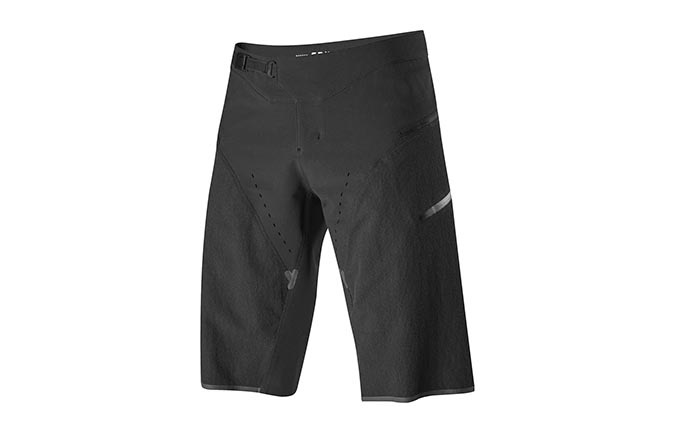 SHORT FOX DEFEND KEVLAR BLACK 2019