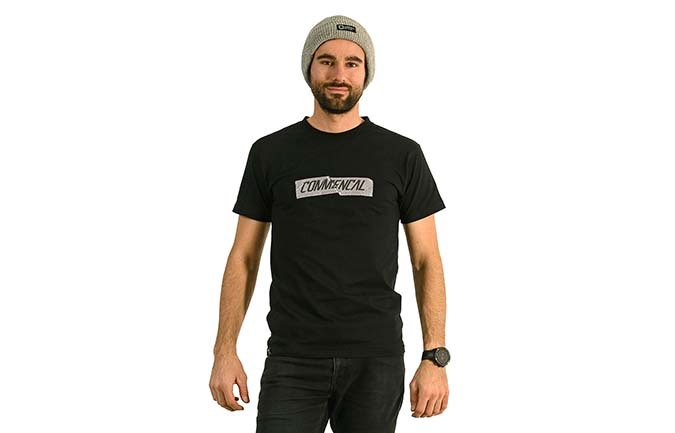 CAMISETA COMMENCAL NEGRA 2020