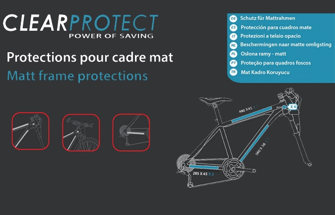 KIT DE PROTECTION INVISIBLE CLEARPROTECT MAT PARA META Y SUPREME