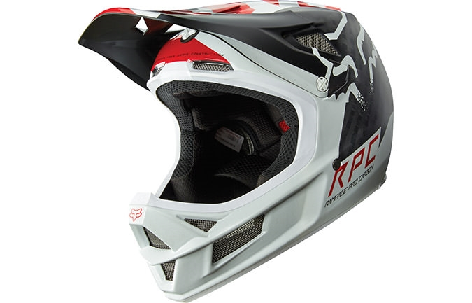 CASCO FOX HEAD RAMPAGE PRO CARBON LIBRA 2016