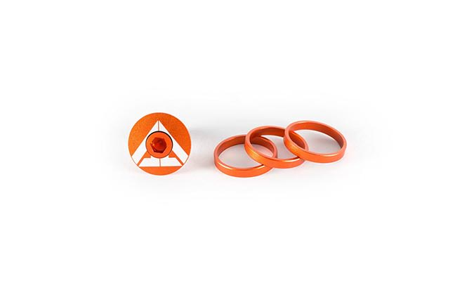 RIDE ALPHA TOP CAP NARANJA
