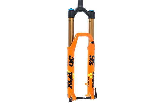 "FOX 36 FLOAT FACTORY KASHIMA GRIP 2 150MM 29"" 2020 ORANGE"