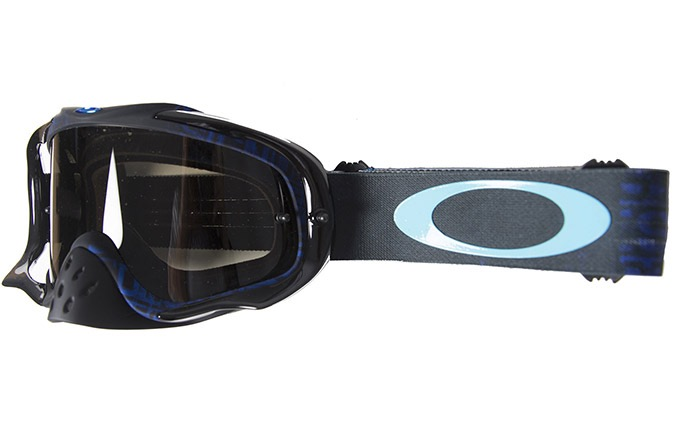 MASCARA OAKLEY CROWBAR DISTRESS TAGLINE STEALTH BLUE/DARK GREY