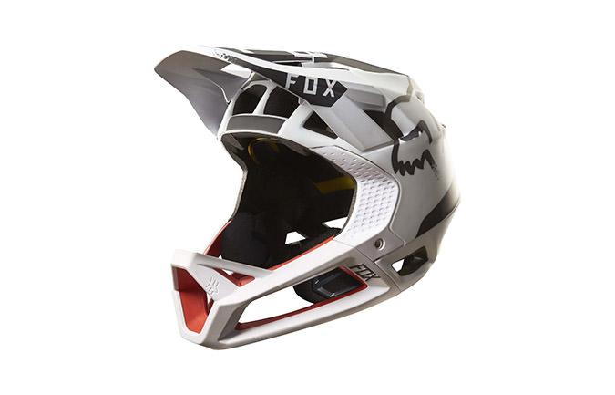 CASCO FOX PROFRAME MOTH WHITE/RED