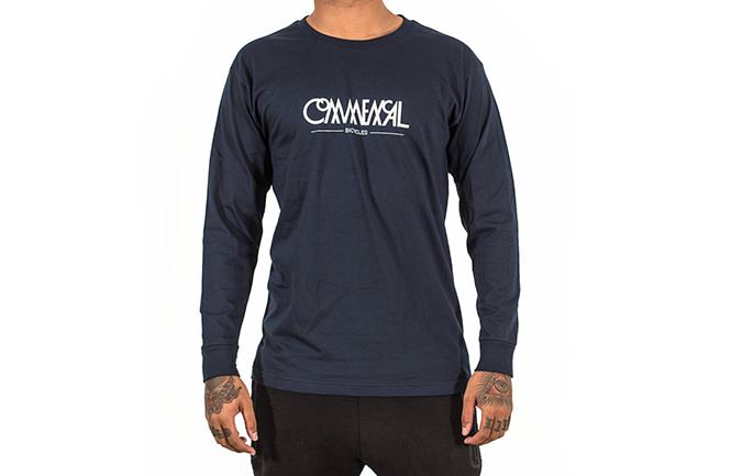 CAMISETA LONG SLEEVE BUBBLE NAVY