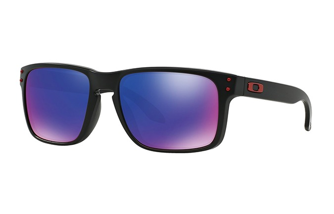 GAFAS DE SOL OAKLEY SLIVER MATTE BLACK MM/RED IRIDIUM