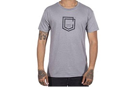 CAMISETA MANGAS CORTAS COMMENCAL SHIELD HEATHER GREY 2019