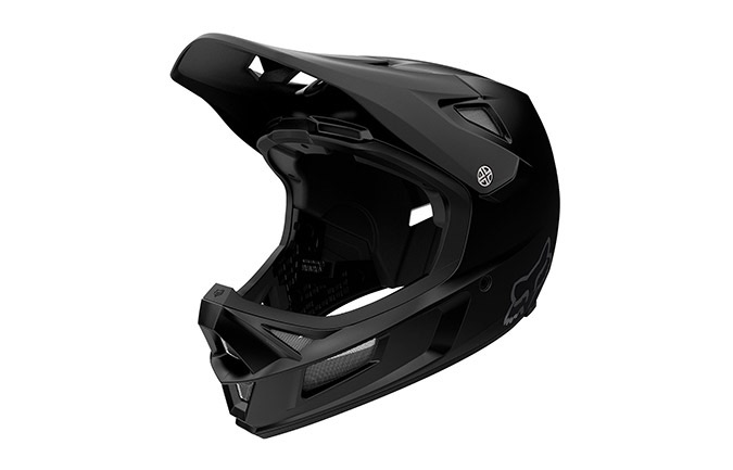 CASCO FOX RAMPAGE COMP MAT BLACK 2020