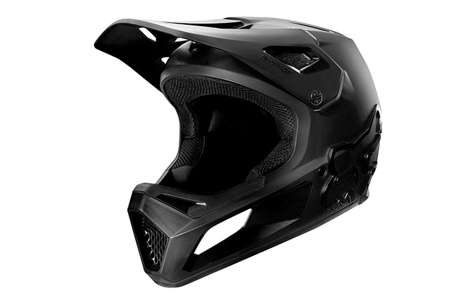 CASCO FOX NIÑO RAMPAGE BLACK/BLACK
