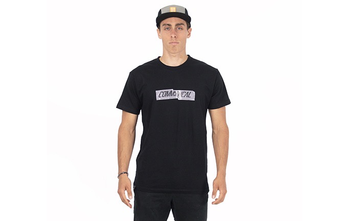 CAMISETA COMMENCAL NEGRA