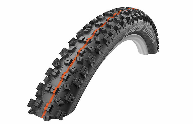 SCHWALBE NEW HANS DAMPF 27.5 X 2.35 SUPER GRAVITY ADDIX SOFT
