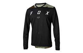 MAILLOT MANGAS LARGAS FOX INDICATOR MASH CAMO BLACK