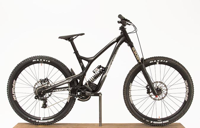 SUPREME DH V4.2 RACE 650B BLACK 2017 (S)
