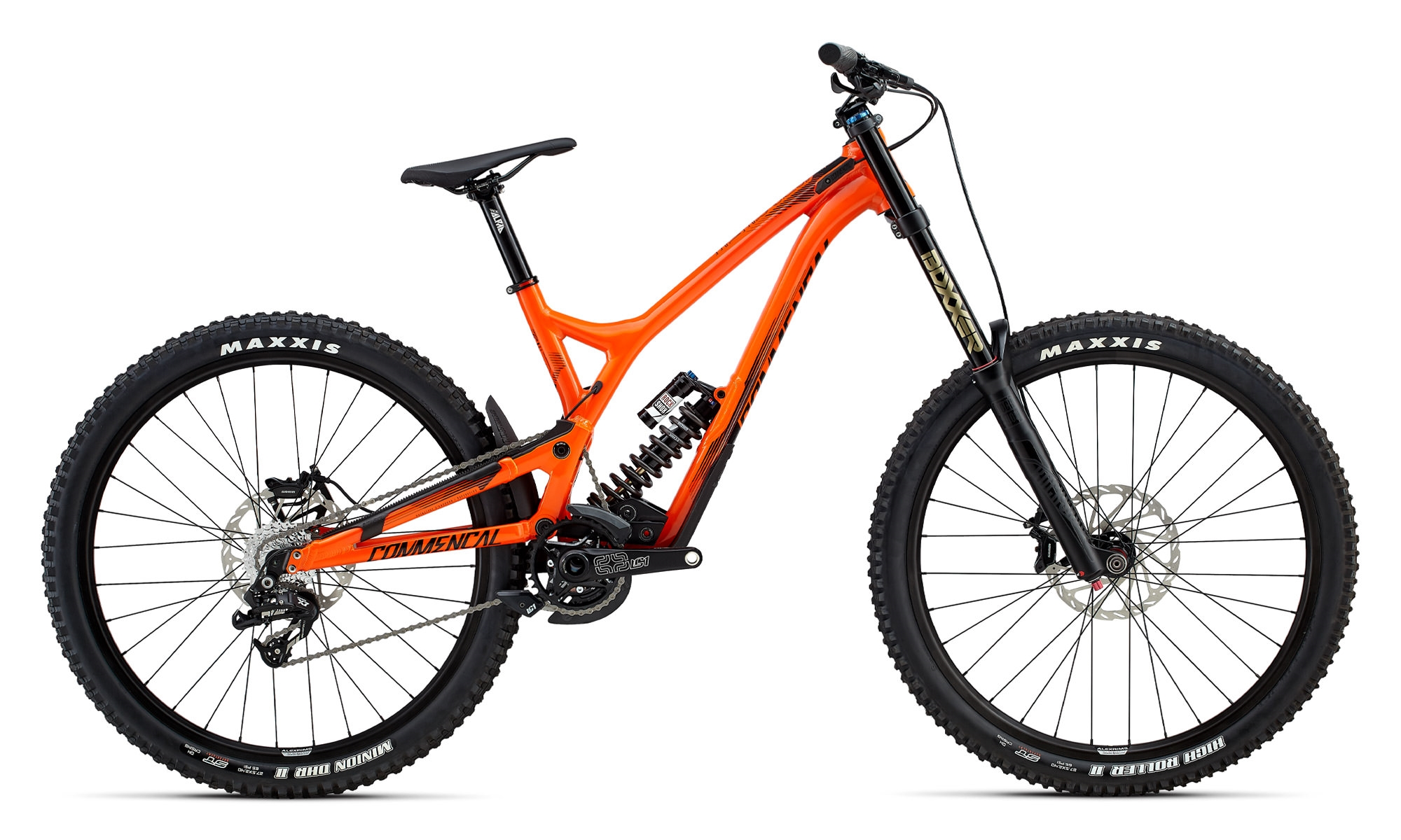 commencal 2017 supreme dh v4 essential orange 2017. Black Bedroom Furniture Sets. Home Design Ideas