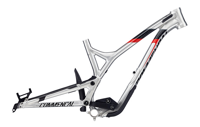 CUADRO SUPREME DH V4.2 650B BRUSHED RED 2018