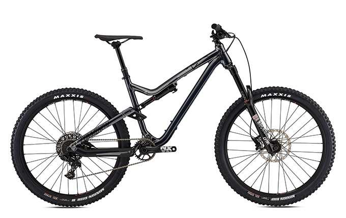 META AM V4.2 RIDE 650B SHINY GUN METAL 2018