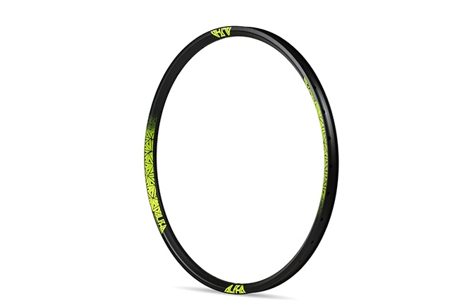 RIDE ALPHA DH RIM 26 YELLOW