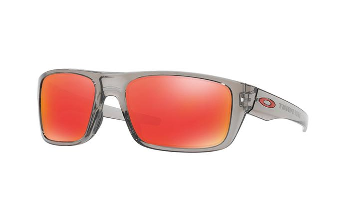 GAFAS DE SOL OAKLEY DROP POINT GREY INK/RUBY IRIDIUM