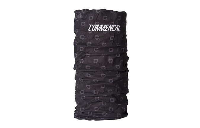 BUFF COMMENCAL BLACK MICROFIBRA