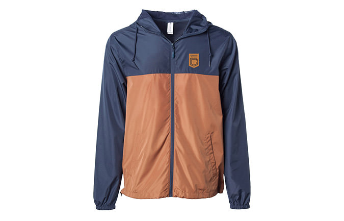 CHAQUETA CLASSIC NAVY / ORANGE 2018